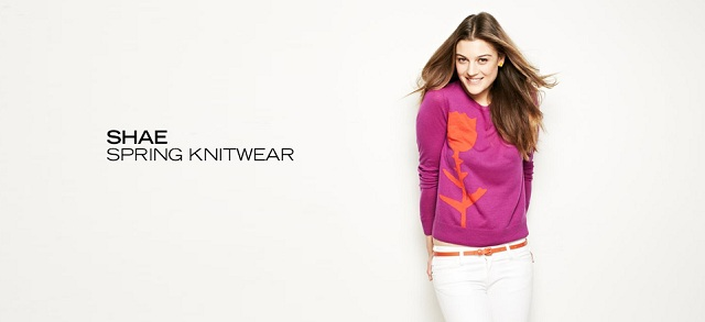 Shae Spring Knitwear at MYHABIT