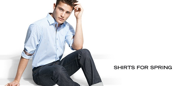 Shirts for Spring at MYHABIT