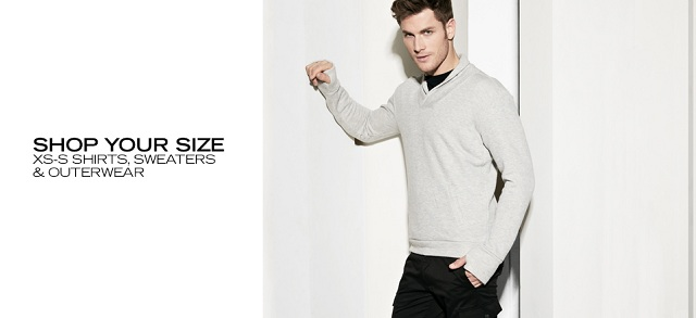 Shop Your Size XS-S Shirts, Sweaters & Outerwear at MYHABIT