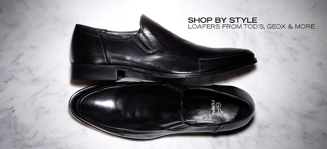 Shop by Style Loafers from Tod's, Geox & More at MYHABIT