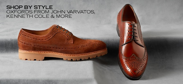 Shop by Style Oxfords from John Varvatos, Kenneth Cole & More at MYHABIT