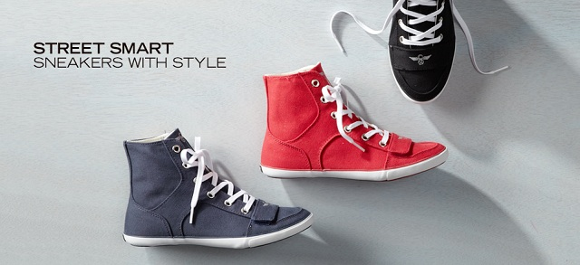 Street Smart Sneakers with Style at MYHABIT