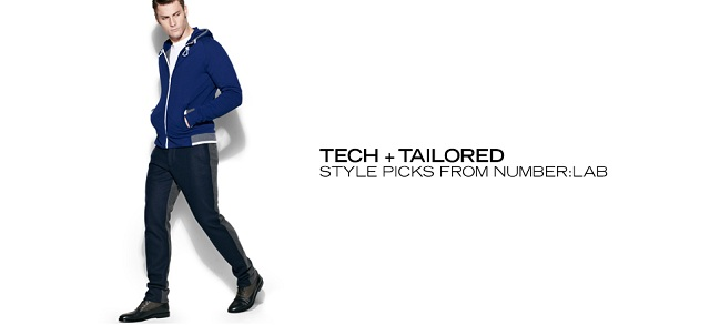 Tech + Tailored Style picks from NUMBERLab at MYHABIT