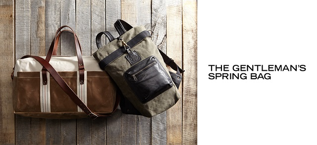 The Gentleman's Spring Bag at MYHABIT