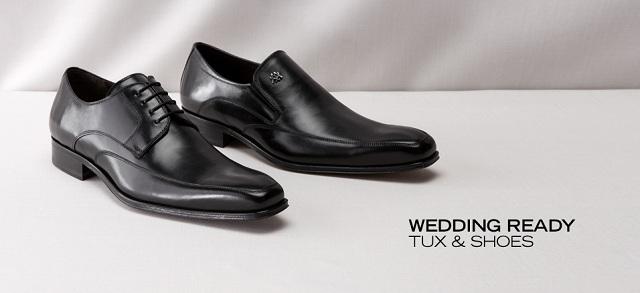 Wedding Ready Tux & Shoes at MYHABIT