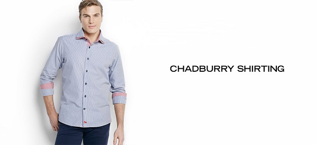 Chadburry Shirting at MYHABIT