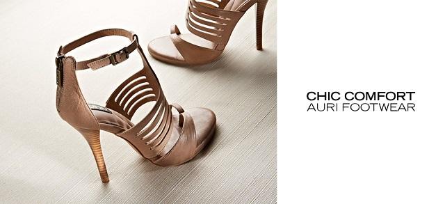 Chic Comfort Auri Footwear at MYHABIT
