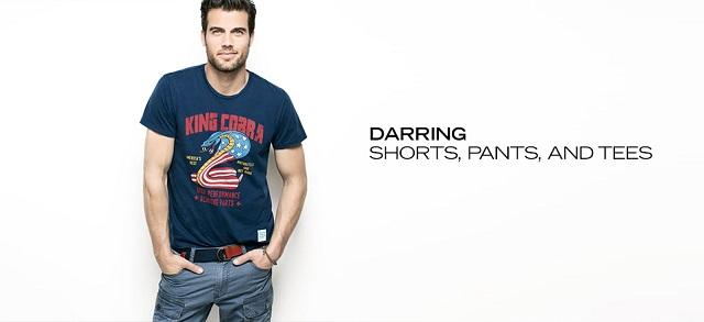 Darring Shorts, Pants & Tees at MYHABIT