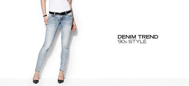 Denim Trend '90s Style at MYHABIT