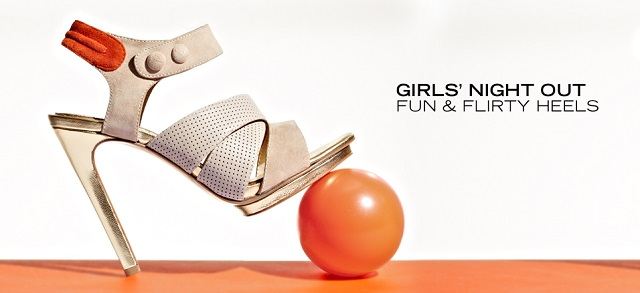 Girls' Night Out Fun & Flirty Heels at MYHABIT