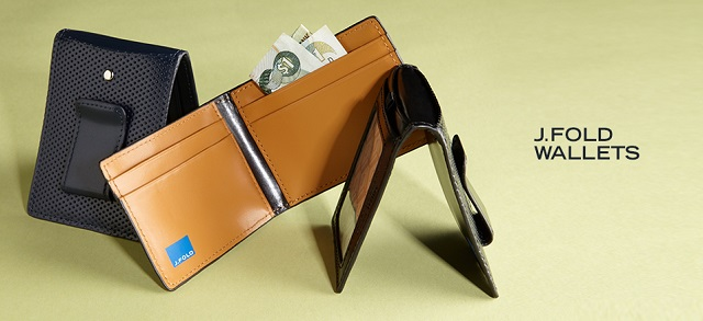 J.Fold Wallets at MYHABIT