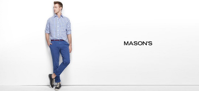 Mason's at MYHABIT