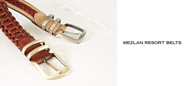 Mezlan Resort Belts at MYHABIT