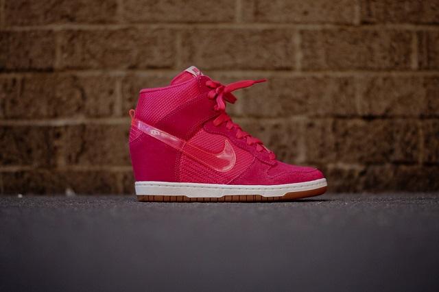 Nike Wmns Dunk Sky Hi - Pink_2