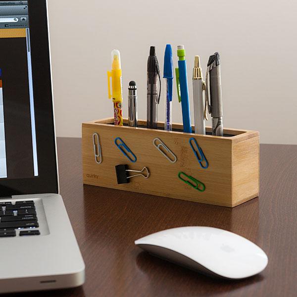 Pen Zen Bamboo Desk Organizer_3