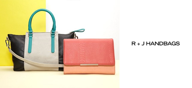 R + J Handbags at MYHABIT