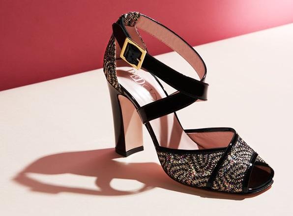 RED Valentino Women's Crisscross Sandal