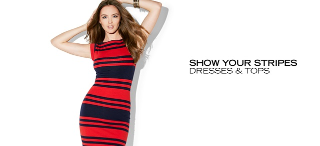 Show Your Stripes Dresses & Tops at MYHABIT