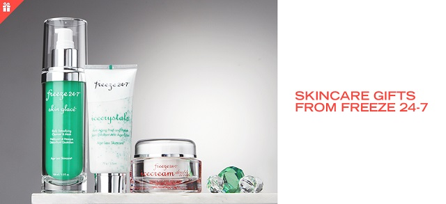 Skincare Gifts from Freeze 24-7 at MYHABIT