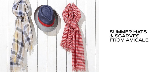 Summer Hats & Scarves from Amicale at MYHABIT