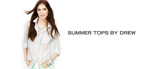Summer Tops by Drew at MYHABIT