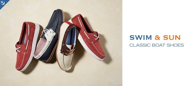 Swim & Sun Classic Boat Shoes at MYHABIT