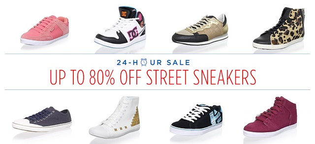 Up to 80 Off Street Sneakers at MYHABIT