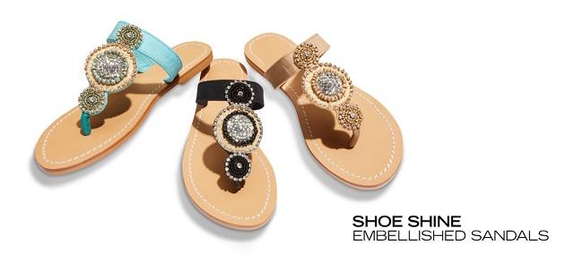 Embellished Sandals Under $80 at MYHABIT