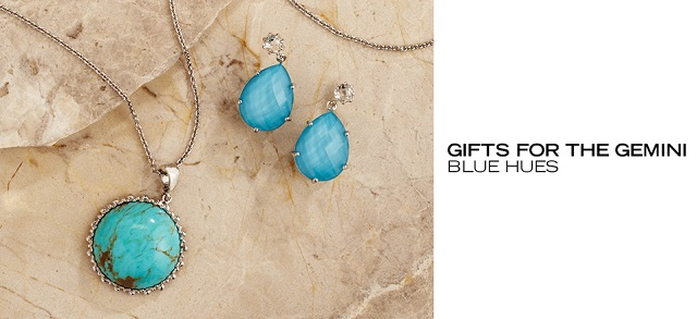Gifts for the Gemini Blue Hues at MYHABIT