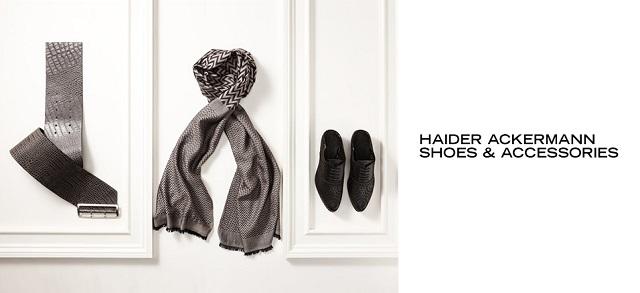 Haider Ackermann Shoes & Accessories at MYHABIT