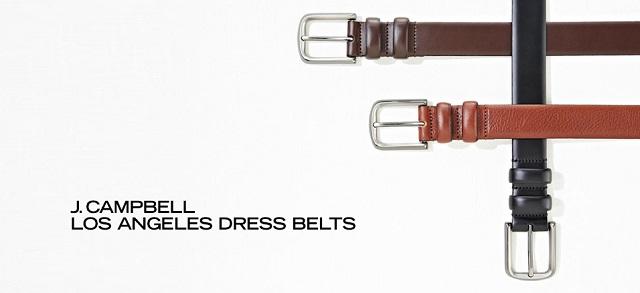 J. Campbell Los Angeles Dress Belts at MYHABIT