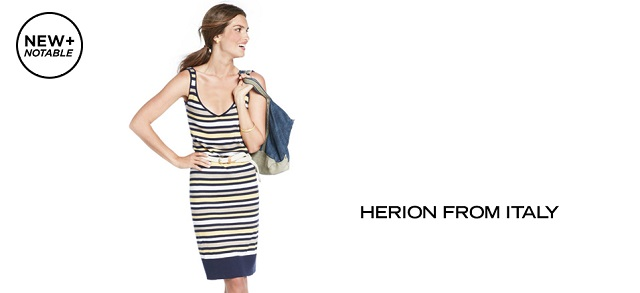 New + Notable Herion from Italy at MYHABIT