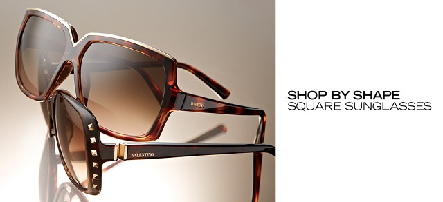Shop by Shape Square Sunglasses at MYHABIT