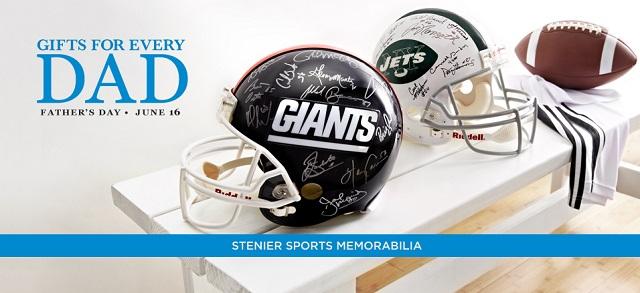 Stenier Sports Memorabilia at MYHABIT