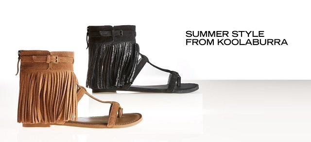 Summer Style from Koolaburra at MYHABIT