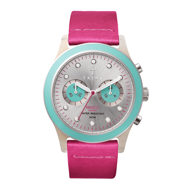 TRIWA Flamingo Brasco Chrono Watch_2