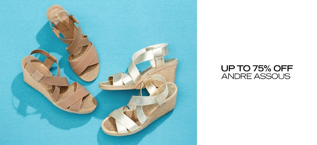 Up to 75 Off Andre Assous at MYHABIT
