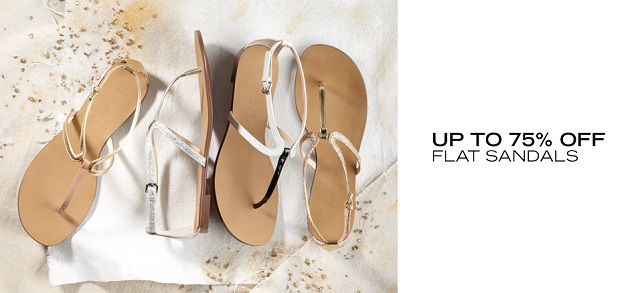 Up to 75 Off Flat Sandals at MYHABIT