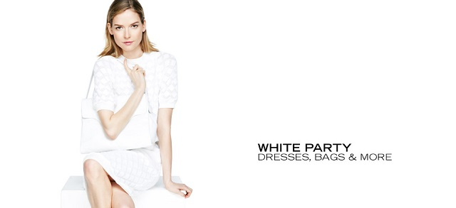 White Party Dresses, Bags & More at MYHABIT