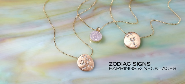 Zodiac Signs Earrings & Necklaces at MYHABIT