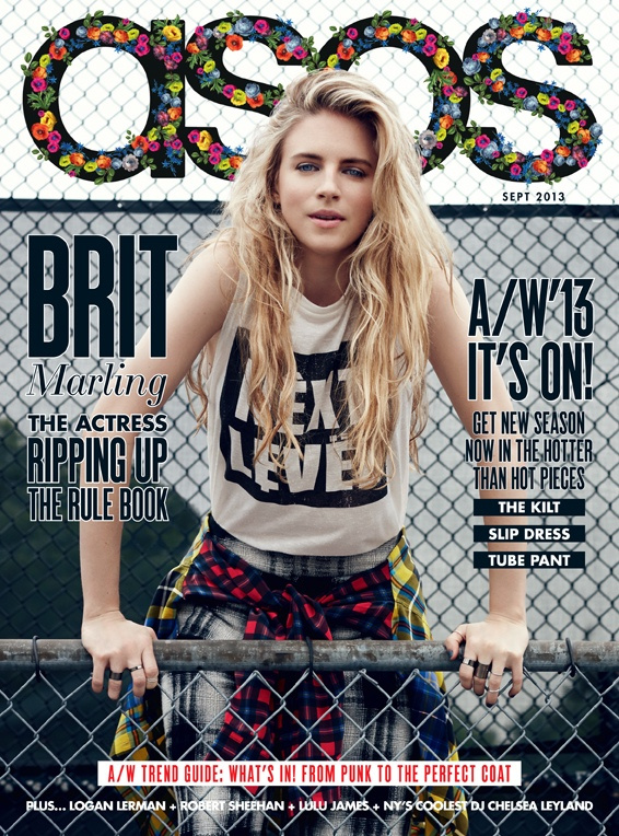 ASOS Magazine's September 2013 Issue by Brit Marling_6