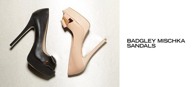 Badgley Mischka Sandals at MYHABIT