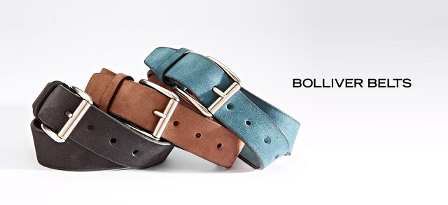 Bolliver Belts at MYHABIT