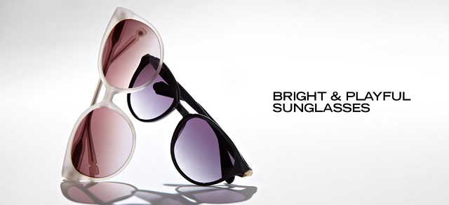Bright & Playful Sunglasses at MYHABIT