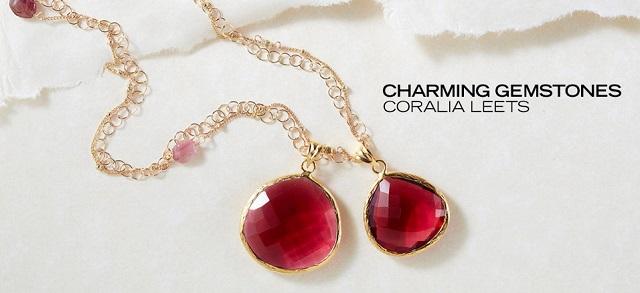 Charming Gemstones Coralia Leets at MYHABIT