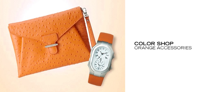 Color Shop Orange Accessories at MYHABIT