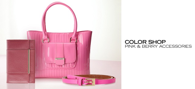 Color Shop Pink & Berry Accessories at MYHABIT