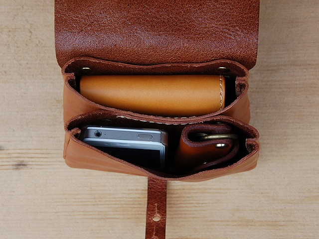 HERZ Leather Belt Pouch_4
