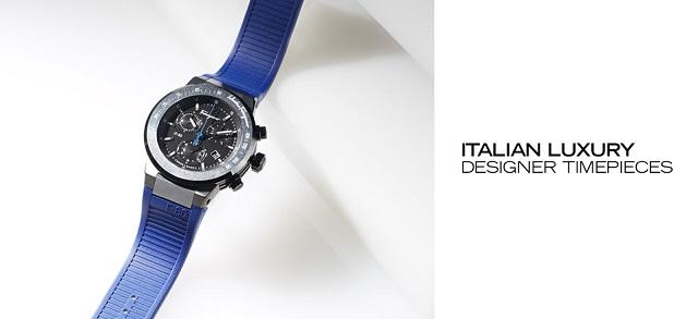 Italian Luxury Designer Timepieces at MYHABIT