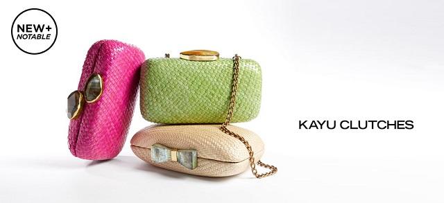 KAYU Clutches at MYHABIT